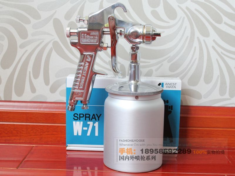 HOT imported with original packaging Japanese Iwata W-71 paint spray gun / furniture / car paint spray gun(China (Mainland))
