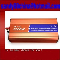 Off  2500w Pure Sine Wave Inverter for Solar or Wind System, Single Phase, Surge 5000w, DC48V/110V, AC110V/220V, 50Hz/60Hz