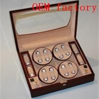 WB3504  GIFT BOX JEWELRY BOX   MAHOGANY WATCH WINDER