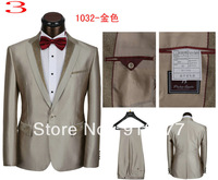 Free shipping high quality fashionable male dress top design suit for men suit (jacket and pants) size S M L XL XXL XXXL