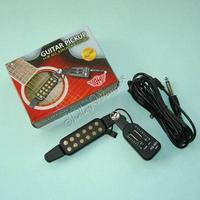 Easy Install 12-Hole Acoustic Classical Guitar Pickup Tone/Volumn Adjust AQ-601