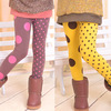 2013 girl pants 2 color wave point wavelet point Leggings