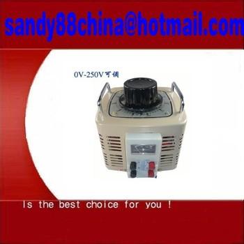 TDGC2 TSGC2 Series of Contacts Regulator  1x TDGC2-0.2KVA Contact type Voltage...