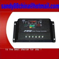 10A PWM Solar Controller  (12V/24V;10A) Solar Charge Controller  free shipping