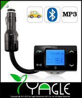 Bluetooth Car Kit MP3 Player FM Transmitter Modulator Remote Control Support USB/SD/MMC