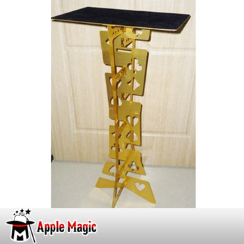 Folding Table - Metal - Gold magic trick