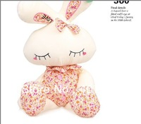 Free shipping The rabbit plush toy doll creative doll girlfriend a birthday present  62CM