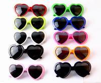 Brand New Heart Shape Love Fashion Men Women Heart Love Sunglasses