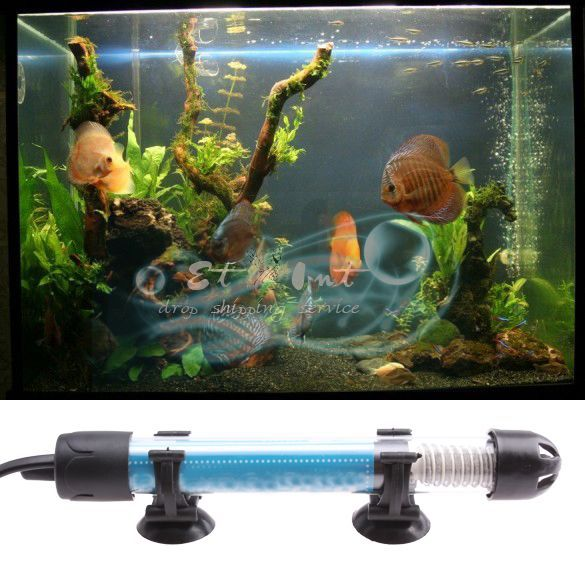 Wholesale 25 Watt Aquarium Fish Tank Submersible Anti-Explosion Insulation Glass Water Heate(China (Mainland))