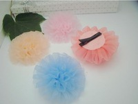 Free Shipping,1lot=300pcs,Korean - Flower Hair Clip / hair headdress