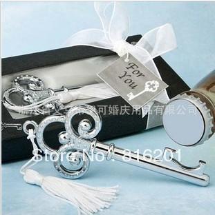 wedding favor gift love key bottle opener key wine opener in gift box 30pcs. Black Bedroom Furniture Sets. Home Design Ideas