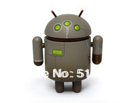 FREE SHIPPING GREY ANDROID DOLL-hot sales