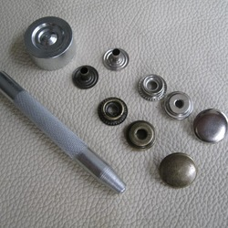 201 snap tools snap button silvery white snap button set(China (Mainland))