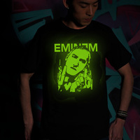 Tang dynasty 2013 short-sleeve T-shirt eminem luminous male t-shirt