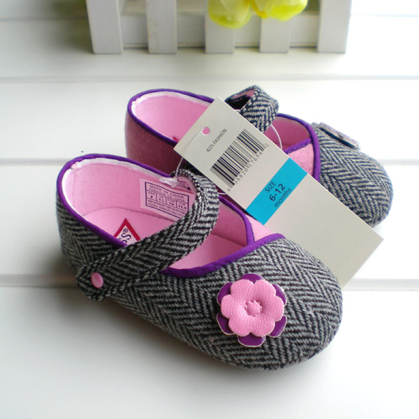 New fashion 0-1 year old spring and autumn slip-resistant baby shoes soft outsole baby shoes toddler shoes cd135 Free Shipping(China (Mainland))