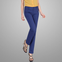 2013 spring and summer straight pants ankle length trousers formal ol small straight pants