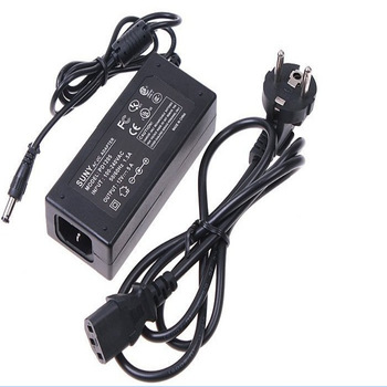 Led strip Power adapter charger 110-240V 50-60Hz 12V 5A Power Supply Adapter Balancer Charger +EU AC Power Cable , Hot sell