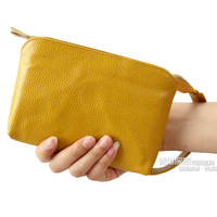 2013 fashion women's clutch women's handbag clutch bag women's genuine leather coin purse bag mobile phone bag