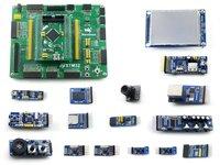 Open407V-C Package B # STM32 ARM Cortex-M4 Evaluation Development Board STM32F407VET6 STM32F407 + 14pcs Accessory Modules Kits