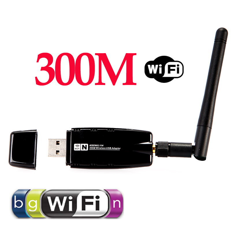 300Mbps 300M Wireless USB WiFi Wi Fi Wi-Fi Adapter With External Antenna(China (Mainland))