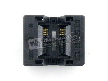 SSOP8 TSSOP8 OTS-8(28)-0.65-01 Enplas IC Test Burn-in Socket Programming Adapter 0.65mm Pitch 4.4mm Width