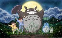 """07 my neighbor totoro cartoon movie 38""""x24"""" Poster"""