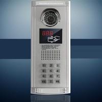 """7"""" inch LCD 18 Apartments Video Doorbell    Door phone Intercom"""
