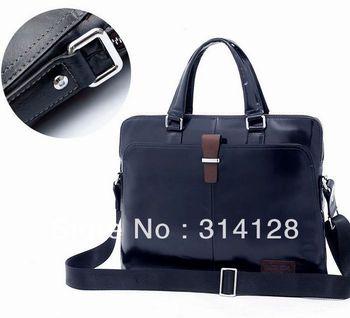 Mazzy star B20052-4 genuine leather/tide man/shoulder bag Korean handbags briefcase computer bag