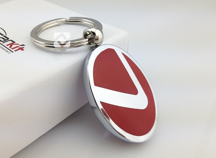 Red Automotive Logos Solid car logo silvery