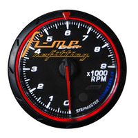 1 pc Retail / AG-DFCR-RPM CR Series 2.5inch Car Gauge  RPM Gauge Tachometer in Red/White Display
