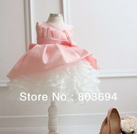 Retail !!! 2014 New free shipping girls clothing beautiful Princess dress girls lace dress New Year's clothes dresses 8866