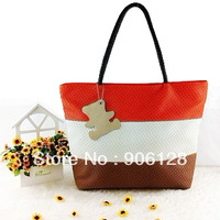 2013 big bags women's shoulder bag women's handbag large capacity bear bags three-color bag