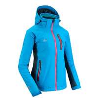 Oursky malagavi outdoor Women color block windproof thermal twinset outdoor jacket