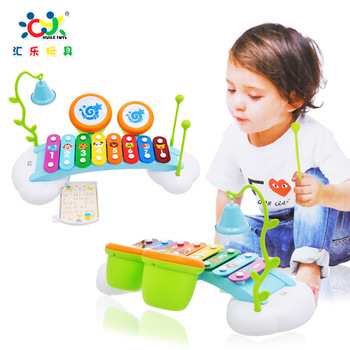 Free shipping Department of music 909 new arrival serinette knock piano child music educational toys 1 - 2 years old belt