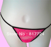 Free Shipping Women G string thong sexy Red Pany Classical Style Hot Sale Lingerie underwear cute T-back