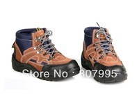 Outdoor survival cattle shoes, hiking shoes, hiking shoes the bottom of the puncture-resistant toe anti-violence men's shoes