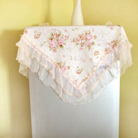 Pearl rustic cloth home lace universal cover towel multi-purpose towel refrigerator cover dust cover