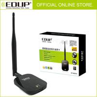 BRAND NEW High Power 150M 1000mW WiFi USB Wireless N Adapter Card RT3070 Ralink 6DBI EDUP FREE SHIPPING