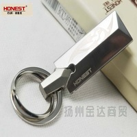 Honest palcent male car keychain quality gift box male keychain belt k955,only one color,CPAM