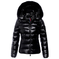 New listing special - fox oge collar short down jacket Hooded Slim thick ladies fashion, free shipping