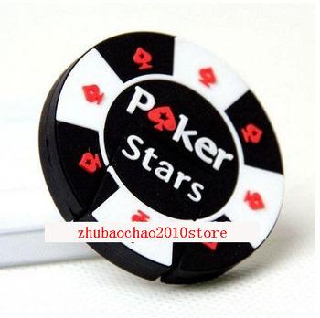 fans 4GB 8GB 16GB 32GB rubber Poker Stars pokerstars USB flash memory drive Pen U disk Iron Box packed gift very nice