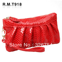 2013 day clutch female genuine leather women's handbag small bags coin purse cowhide