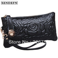 Lucky purse female long design genuine leather clutch women's handbag 2013 clutch bag women's coin purse