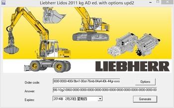 Liebherr lidos 2012 keygen