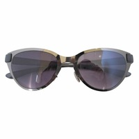 S11082 Cat Eye Style Thin Metal Frame Rim Plastic Arms Women's Sunglasses W/case gunmetal