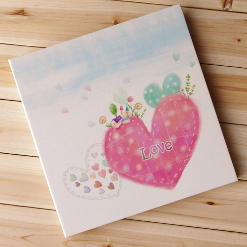 for baby growing Self-adhesive photo album diy photo album with thin 12inch protective film baby gift free shipping(China (Mainland))