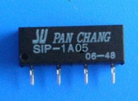 Small DC5V  reed  relay SIP-1A05