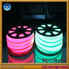 Can be customized, white jacket, 20m/roll, high voltage 220v,new design, widely use, 220v green neon lights for rooms