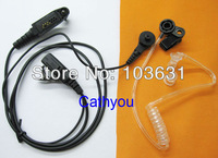 Covert Acoustic Tube Headset Earpiece For Two Way Radio GP328PLUS GP329PLUS New