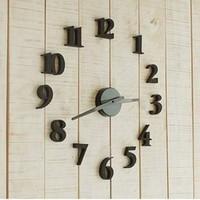 Eco-friendly fashion personality pocket watch brief clocks diy art wall clock mute